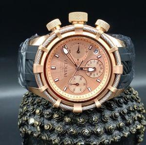 FIRM PRICE-INVICTA BOLT Chronograph Rose watch